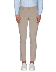 Roberto Pepe Trousers Casual Trousers Men Beige