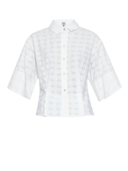 Thierry Colson Olivia Gingham Checked Cotton Shirt