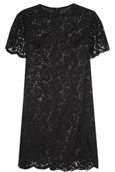 Iris And Ink Collette Cotton Blend Lace Dress Black