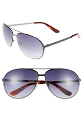 Marc By Marc Jacobs 62Mm Aviator Sunglasses Ruthenium