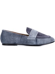 Newbark 'Claude' Distressed Loafers Grey