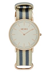 Ichi Watch Ebony Dark Grey