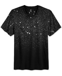 Inc International Concepts Men's Speckled T Shirt Only At Macy's Deep Black
