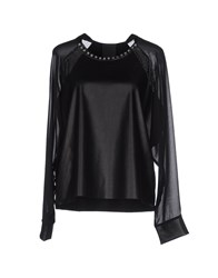Luxury Fashion Shirts Blouses Women Black