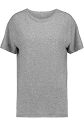 R 13 R13 Cotton And Cashmere Blend Jersey T Shirt Gray