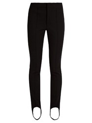 Moncler Stirrup Ski Leggings Black