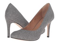 Corso Como Del Grey Herringbone High Heels Gray