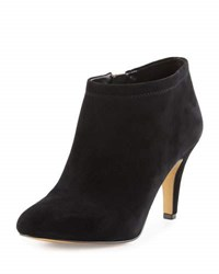 Vince Camuto Vessa Suede Zip Up Bootie Black
