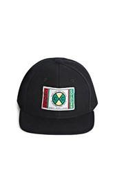Forever 21 Cross Colours Patched Snapback Black