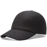 Comme Des Garcons Shirt Boy Fitted Baseball Cap Grey