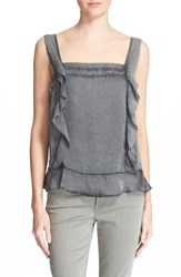 Women's Zadig And Voltaire 'Tendre' Ruffle Tank