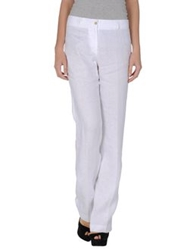 Fabiana Filippi Casual Pants White