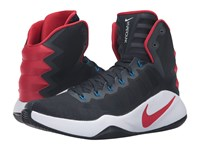 Nike Hyperdunk 2016 Dark Obsidian Bright Crimson Dark Obsidian Men's Basketball Shoes Black