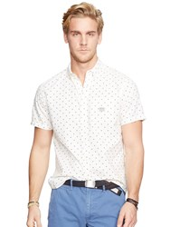 Denim And Supply Ralph Lauren One Pocket Short Sleeve Shirt Sky Star