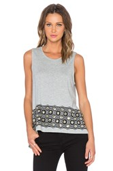 Sass And Bide Sing Out Top Gray