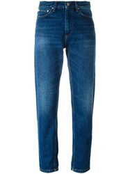 Carhartt High Waisted Jeans Blue