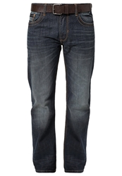Tom Tailor Trad Relaxed Fit Jeans Dark Indigo With Tint Blue