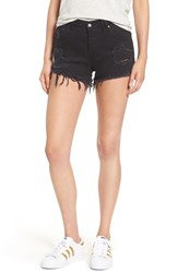 Sincerely Jules Women's 'Riley' Cutoff Denim Shorts