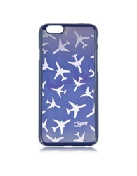 Diane Von Furstenberg Iphone 6 Airplane Hologram Case Blue