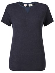 Levi's Luxe Perfect T Shirt Nightwatch Blue