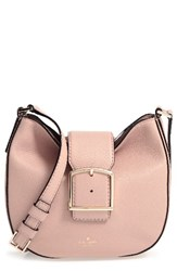 Kate Spade New York Healy Lane Lilith Leather Crossbody Bag Brown Toasted Wheat