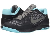 Nike Zoom Cage 2 Black Copa Tumbled Grey Men's Tennis Shoes