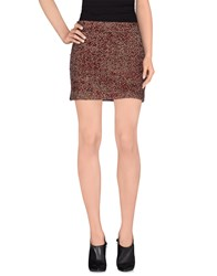 Tara Jarmon Skirts Mini Skirts Women Garnet