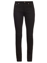 Saint Laurent Raw Cuff Skinny Jeans