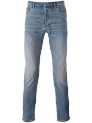Maison Martin Margiela Slim Fit Jeans Blue