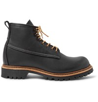 Red Wing Shoes Ice Cutter Oil Tanned Leather Boots Black