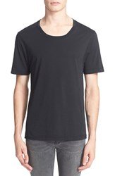 Men's Blk Dnm 'T Shirt 3' Pima Cotton T Shirt Black