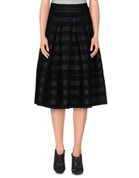 Roberto Collina 3 4 Length Skirts Black