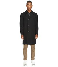 Marc Jacobs Strictly Twill Trench Coat Black Men's Coat