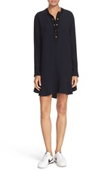 A.L.C. Women's 'Trevor' Snap Placket Long Sleeve Dress