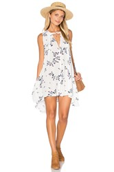Free People Snap Out Of It Swing Dress White
