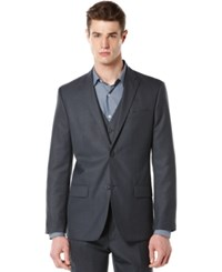 Perry Ellis Big And Tall Suit Jacket Navy