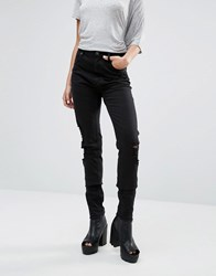 Cheap Monday Second Skin Skinny Jeans 34 Freedom Black 34