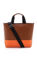 Jack Spade Dipped Leather Tote Bag