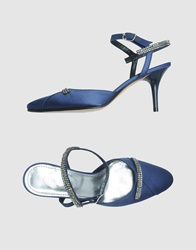 Bagutta Slingbacks Blue