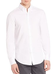 Brunello Cucinelli Solid Long Sleeve Shirt White