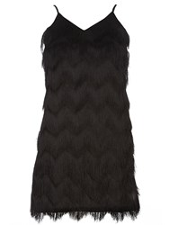 Dorothy Perkins Luxe Flapper Dress Black