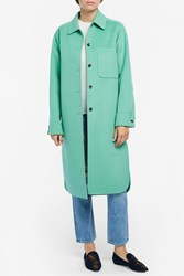 Acne Studios Berkeley Coat Green