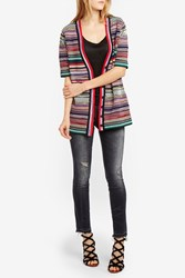 Missoni Women S Striped Knit Cardigan Boutique1 Multi