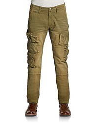 Prps Cotton Cargo Pants Army Green