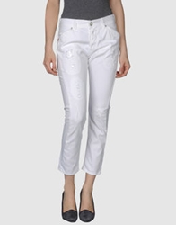 Seal Kay Independent Denim Capris White