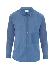 By Walid Ben Patch Pocket Cotton Shirt