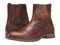 Dune Cackle Tan Leather Men's Boots