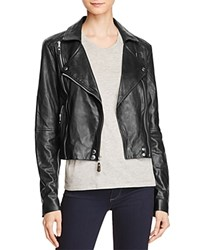 Paige Roanna Leather Jacket Black