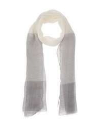 Jil Sander Accessories Oblong Scarves Men Grey