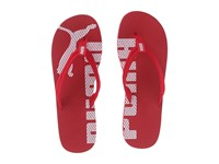 Puma Epic Flip V2 Barbados Cherry White Men's Sandals Red